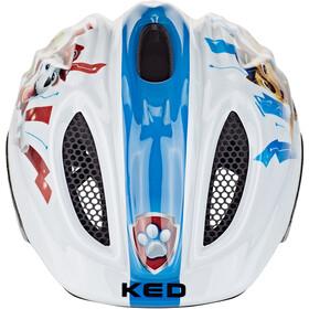 KED Meggy II Originals Casque Enfant, blanc/Multicolore